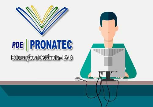 PRONATEC Educação à distância